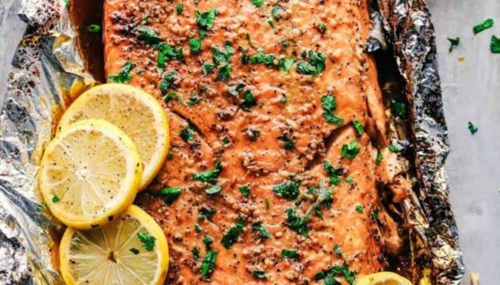 brown sugar garlic salmon